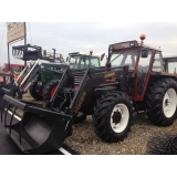 Tractor Fiat 80-90 4x4 incarcator frontal