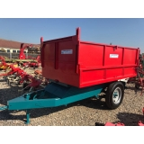 Remorca transport cereale 6 tone
